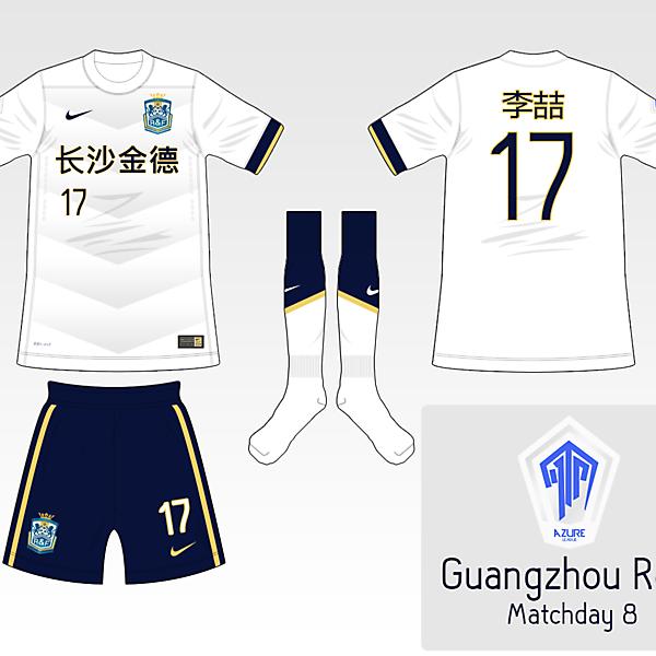 [Azure League] Matchday 8 - Guangzhou R&F