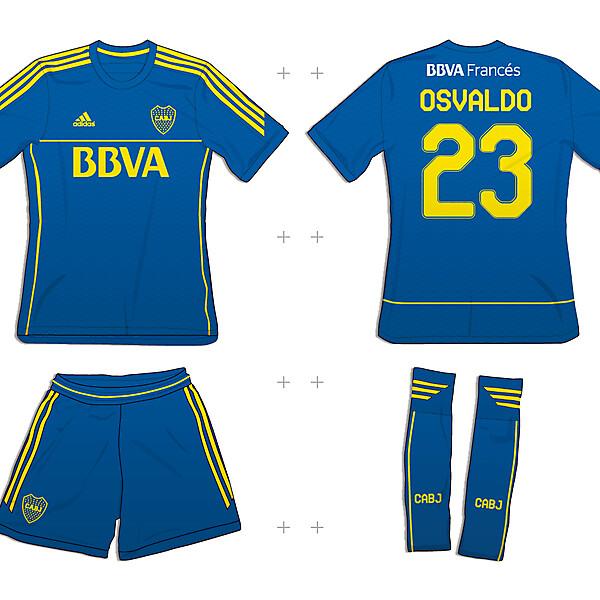 Boca Juniors - Adidas Custom Template