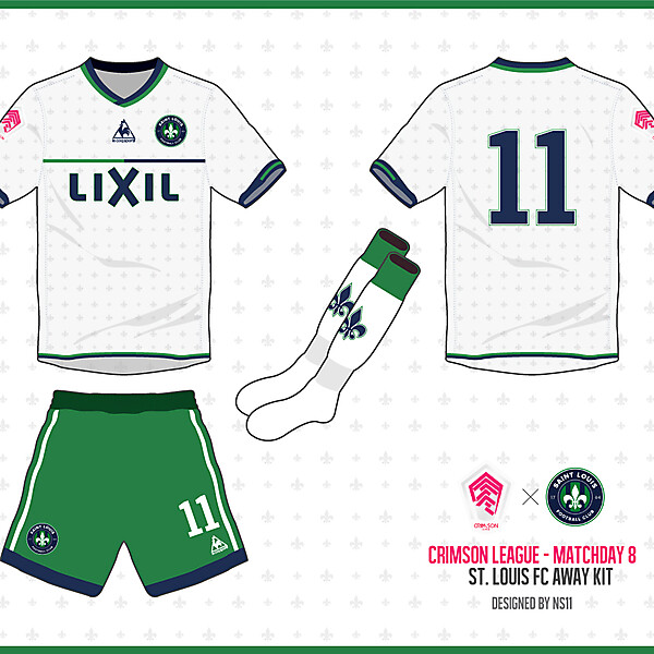[Crimson League - Matchday 8] St. Louis FC away kit