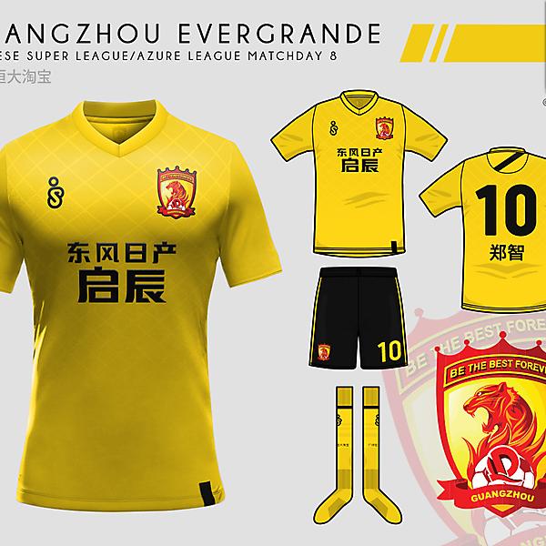 Guangzhou Evergrande - Azure League Matchday 8