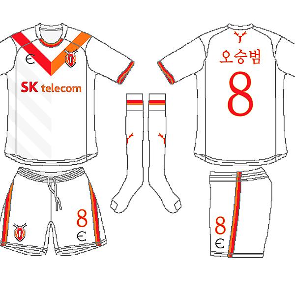 Jeju FC United Away Kit - Azure League Matchday 4