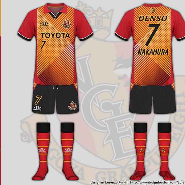 Nagoya Grampus-Lorenzo Marini, Matchday 5 - Crimson League