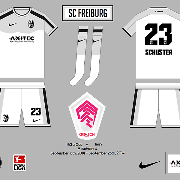 SC Freiburg Away - Crimson League - Matchday 4
