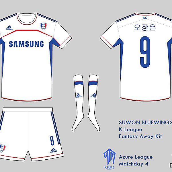 Suwon Bluewings Kit- Azure League Match day 4