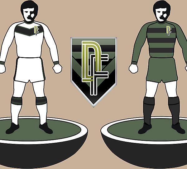 DF Home/Away kits