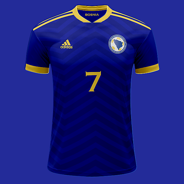 Bosnia Home shirt