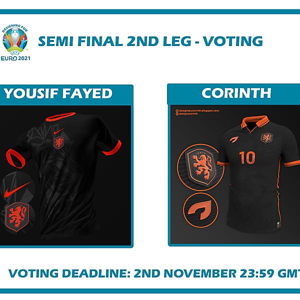 Semi Final Second Leg Voting