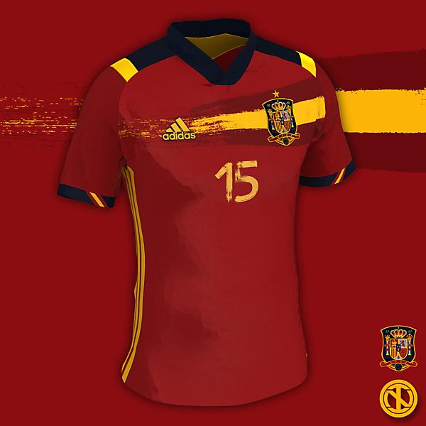Spain | Euro 21 Home Kit Concept