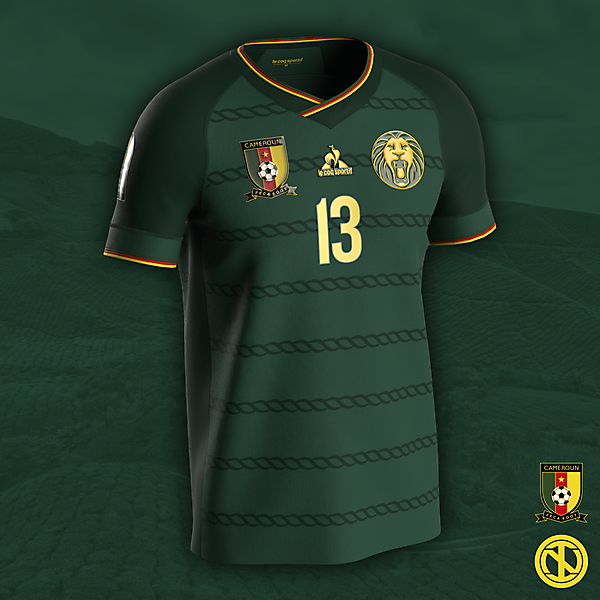 Cameroon | AFCON 2022 Home Kit Concept