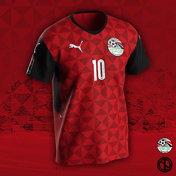 Egypt | AFCON 2022 Home Kit Concept