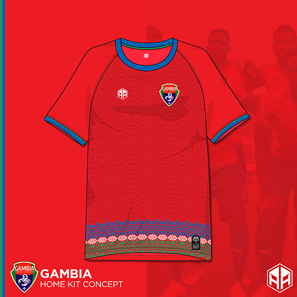 Gambia home kit concept