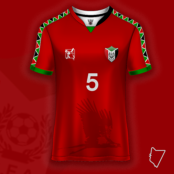 Sudan Home Shirt Concept - Riddesign