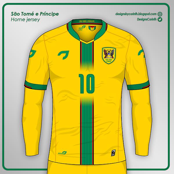 São Tomé and Príncipe | Home jersey