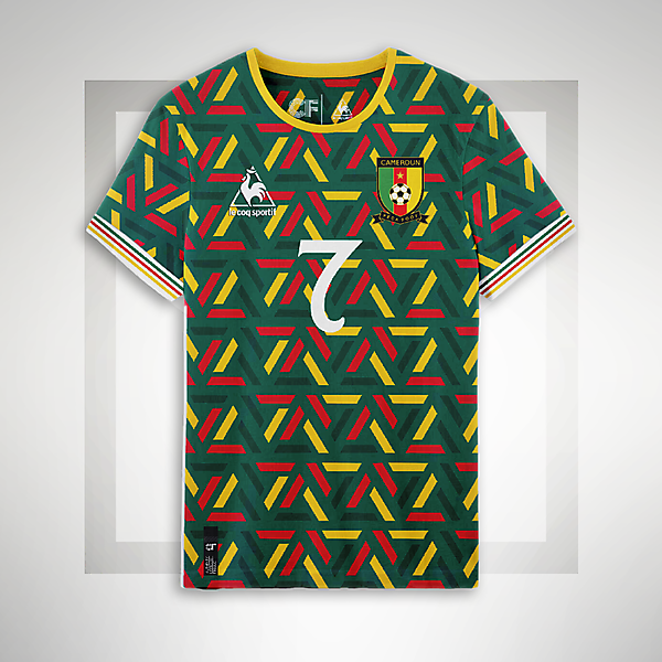 Cameroon Home Shirt
