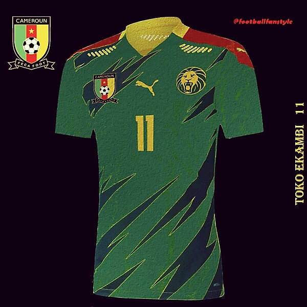 Cameroon x Puma concept kit