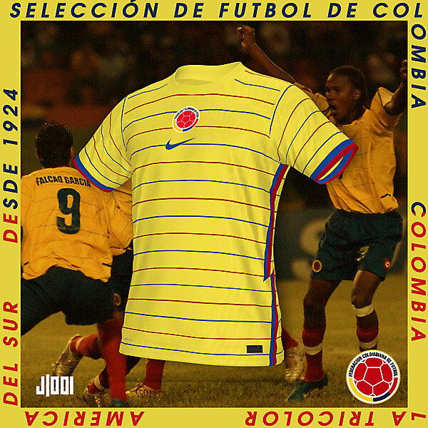 COLOMBIA | NIKE HOME SHIRT CONCEPT