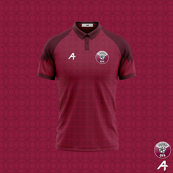 Qatar home kit concept