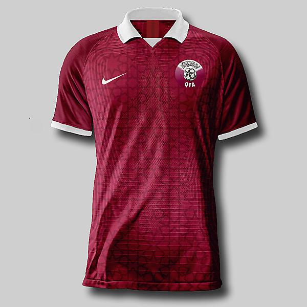 Qatar home shirt