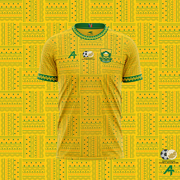 South Africa home kit concept