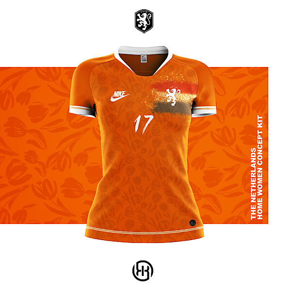 The Netherlands   Home women kit concept