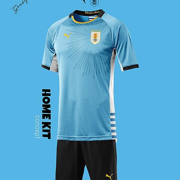 Uruguay Home Kit Concept