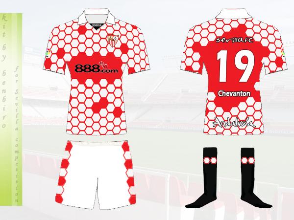 Sevilla FC Home Kit