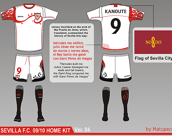 Sevilla FC Home Kit ver. 04