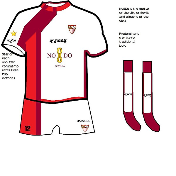 Sevilla Home Shirt 09