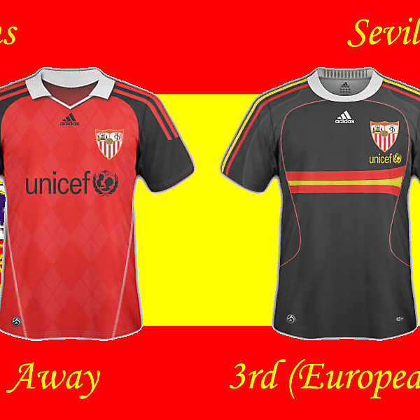 Sevilla Fútbol Club - Strips