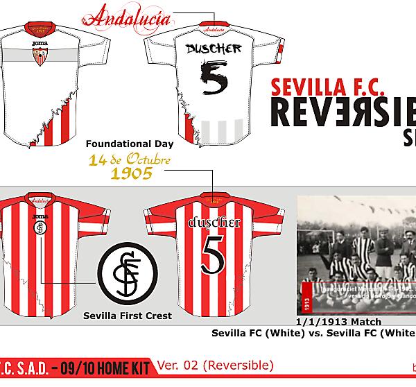 DF - Sevilla FC kit Design competition (closed)