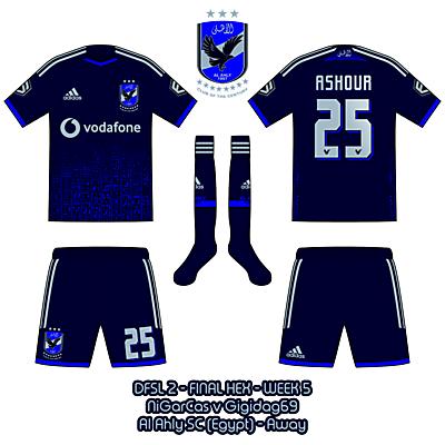 Al Ahly SC - Away Kit