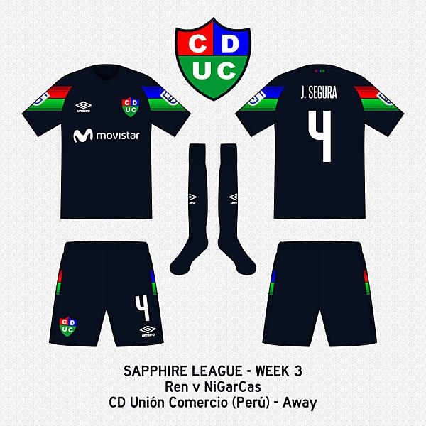 CD Unión Comercio - Away Kit (NiGarCas)