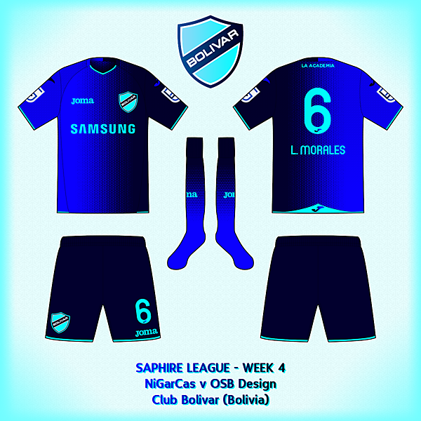 Club Bolivar - Away kit