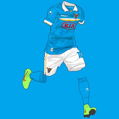 Daegu FC Home Kit x Uhlsport