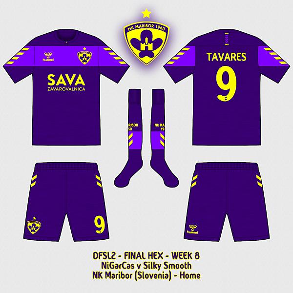NK Maribor - Home kit