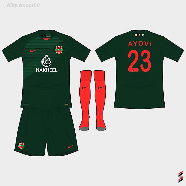 Shabab Al-Ahli Dubai Nike @silky_smooth0