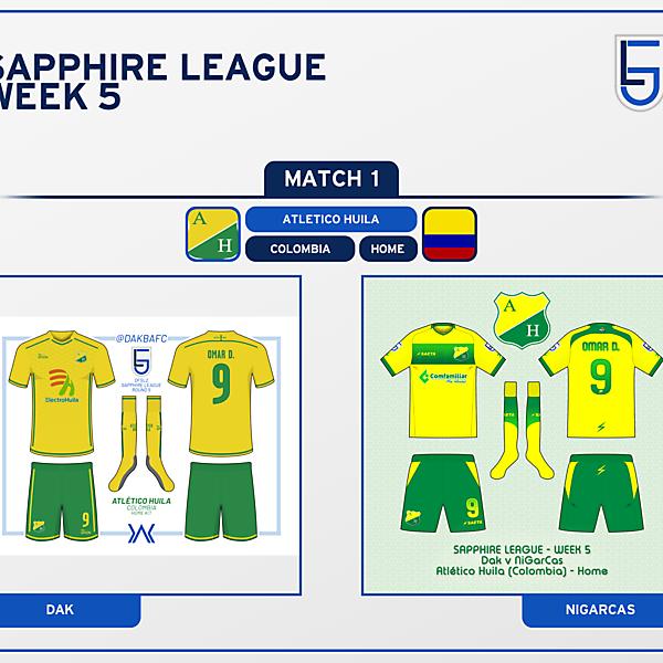 [WEEK 5] Voting - Sapphire League