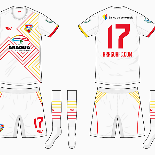 Aragua Away Kit - DF Super League