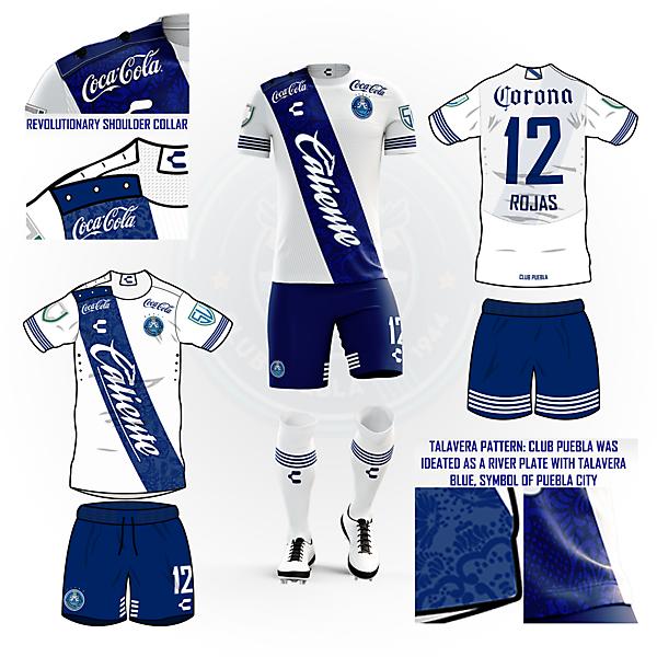 Club Puebla home kit