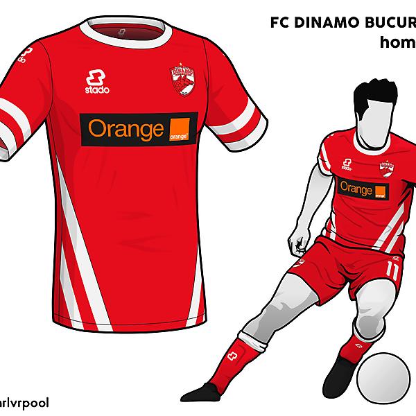 Dinamo Bucuresti - Home Kit