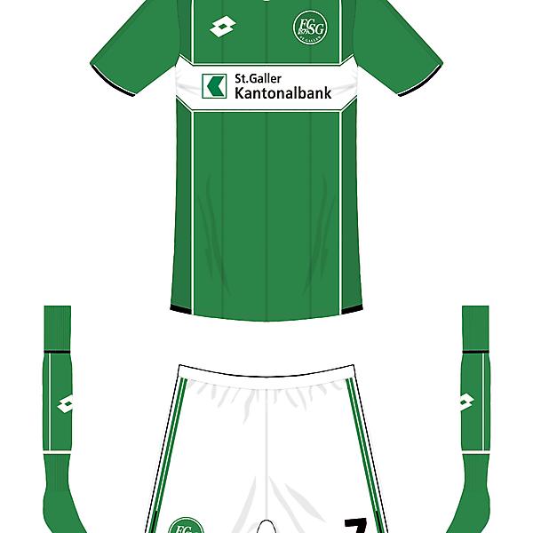 FC St. Gallen home kit