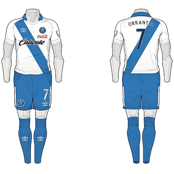 Round 2 : Club Puebla - Home Kit