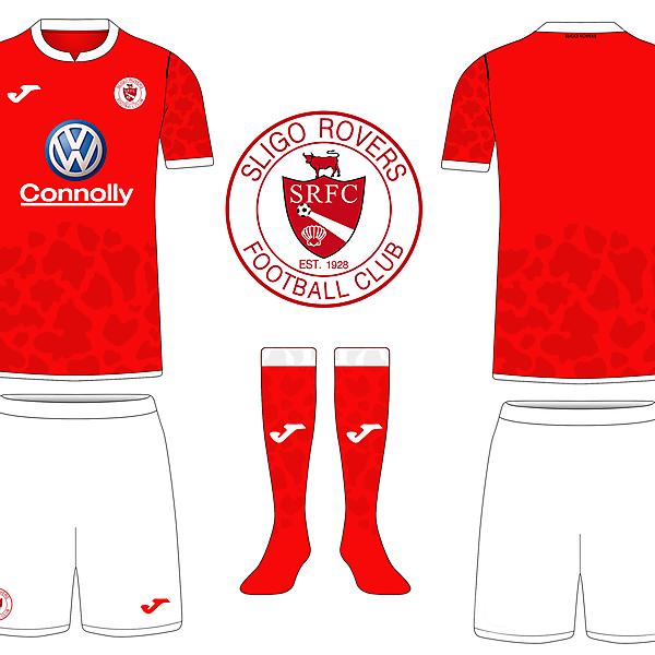 Sligo Rovers - Home Kit (riyan aldafa)