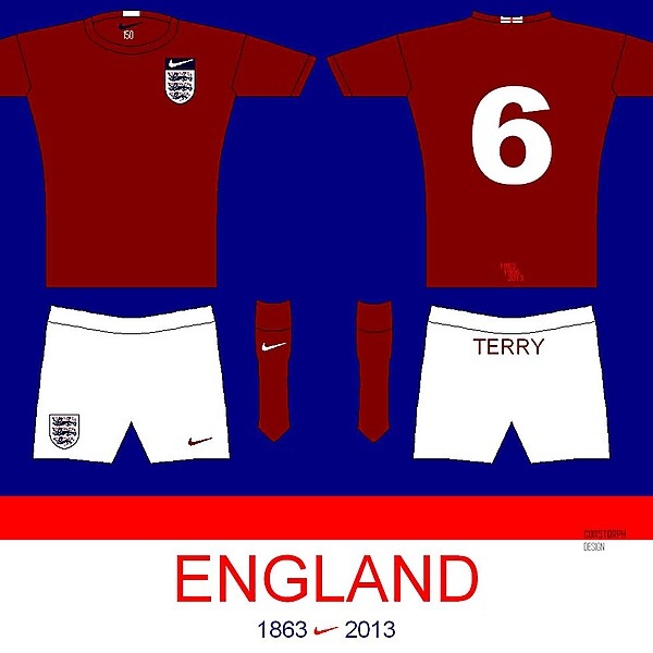 England 150 Away