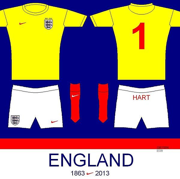 ENGLAND 150 GK