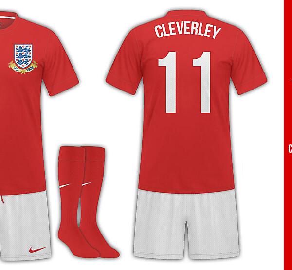 England Away Kit (150th Anniversary)