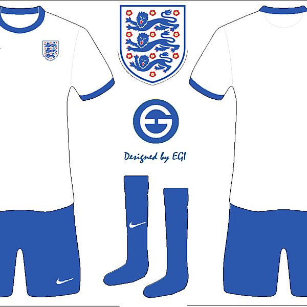 England Home Kit 150th anniversary