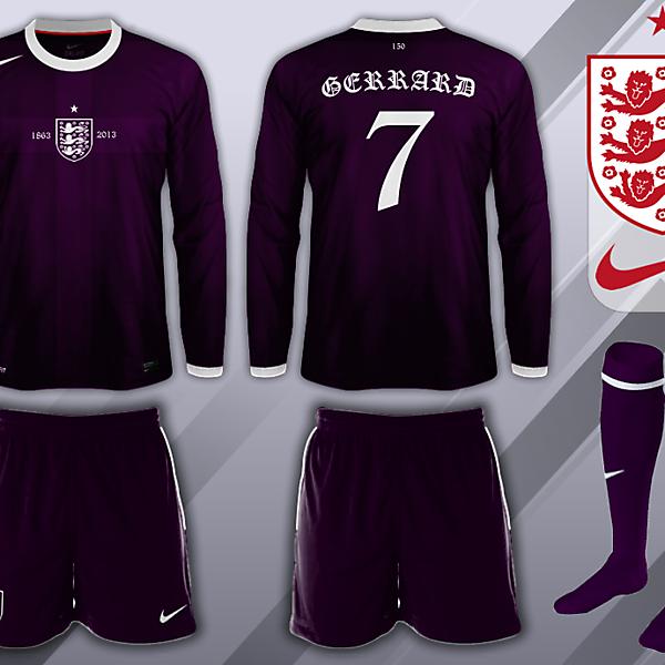 England 150th Anniversary Away Kit