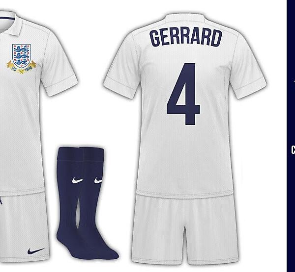 England Home Kit (150th Anniversary)