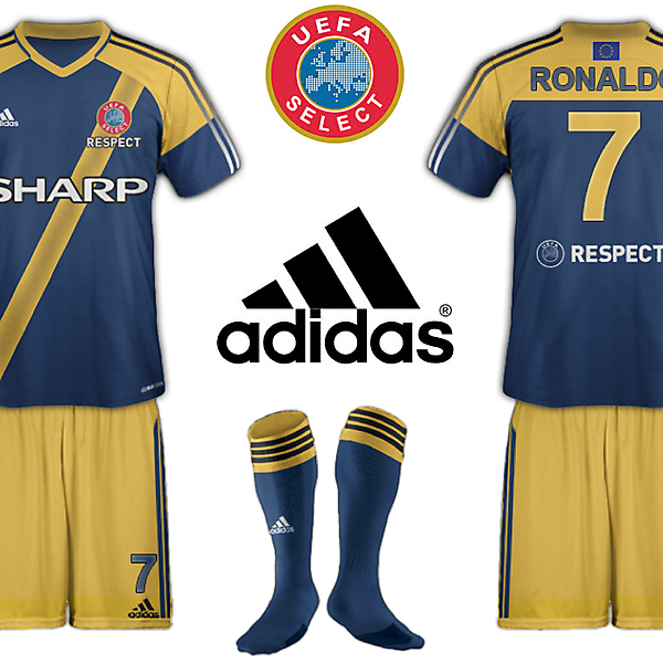 UEFA SELECT KIT 2 (with sponsor)